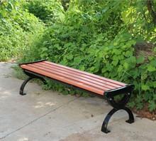 Public service facility cheap outdoor park bench