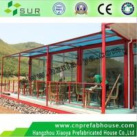 lightweight prefabricated steel industrial buildings/luxury prefab steel structure homes for sale