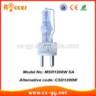 MSR1200 SA G 22 5600k metal halide bulb dj scan HTI1200/SE XS