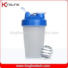 Any color 16oz/400ml custom logo shaker bottle / cocktail shaker (KL-7011D)