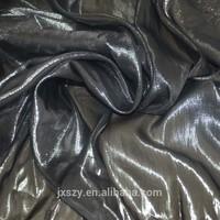 lurex silk georgette silver lurex silk voile