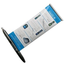 high quality metal banner pen for promotion and gift