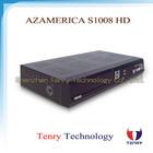 Azamerica s1008 iks+sks+iptv nagra 3 for south america azamerica s1008