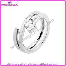 Chinese factory OEM new fashion wedding ring ,engagement ring