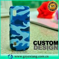 Design hard back cover case for nokia asha 300