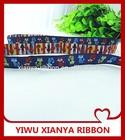 Marquetry ribbon /fox ribbon /kids belt ribbon