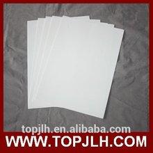 A4 Inkjet branco Pape Material para transferência de água