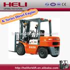 HELI BRAND COUNTER BALANCED FORKLIFT K SERIES 3.5T CPCD35 DIESEL ENGINE