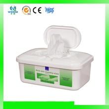 Box packing spunlace nonwoven wet wipes