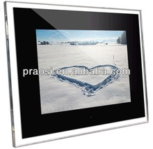 "Manufacturer directly selling for oversea market - photo slide show viewer 15"" digital video auto frame"