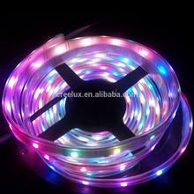 High brightness waterproof flexible digital ws2801 5050 dream color horse race led
