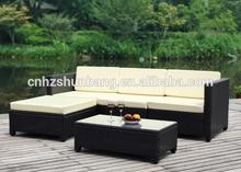 Wicker Outdoor Furniture In Garden