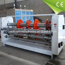 speeding electricity move slicing the corner &slotting machine for carton corrugated board