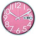 dannol 12 pollici nuovo designz idee di business giorno e data orologio da parete di plastica da regalo
