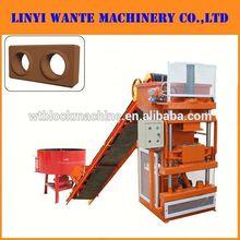 WT1-10 compressed earth interlocking blocks use clay