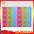 nuovi prodotti 2014 colorato impermeabile pubblicità stampato stuoia di tabella