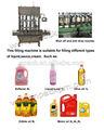 Automático vegetal comestível máquina de enchimento de óleo óleo de cozinha
