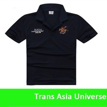 High Quality custom 100% cotton soft fabric men polo t shirt