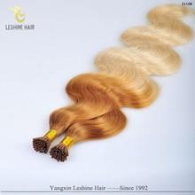 Best Quality Remy Wholesale Italian Keratin Body Wave U Tip Hair