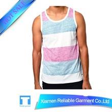 2015 High quality men's vest men's tank top for sportswear men's singlet