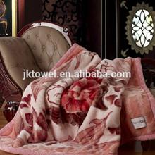 soft feeling raschel blanket/cheap blanket/korean blanket
