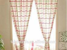 Hot design 100% cotton printed stripe woven fabric for curtain, bed sheet, table cloth, cushion, sofa etc.