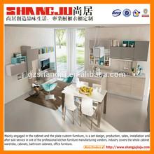 modern small size room style melamine kitchen cupboard