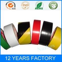 Yellow Black Industry Pipe Hazard Warning Strip Adhesive tape