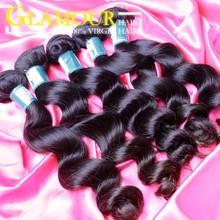 Good feedback ali loose wave hair product 100% raw indian hair industries