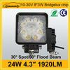 Excellent automobile 24w super bright led work light