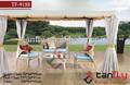 Tf-9188 klassischen freizeit 100% handgefertigt Allwetter-Terrasse Garten rattan Golf möbel