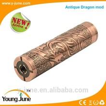 2015 new mechanical mod electronic cigarette vaporizer ancient dragon 18650 rechargeable battery vape mod