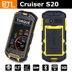 Cruiser S20 Glonass 2+8MP/uhf PTT/SOS IP67 android waterproof floating mobile phone