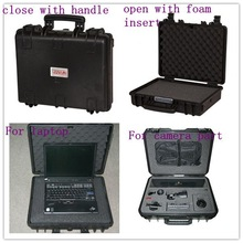 Waterproof IP67 Hard Computer Case Tool Box with Foam Insert Fishing Tackle Case