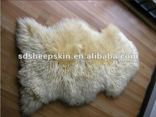 Brand New XXL Extra Large White Ivory Genuine Merino Sheepskin Real Fur Rug