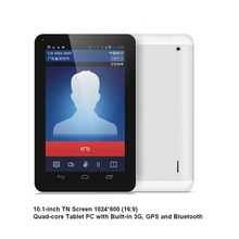andriod tablet MTK8382 quad core 3G built-in10 inch mid1GB/8GB FM GPS Bluetooth 1.3GHZ