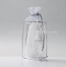 travel beauty bath bottle kit set in clear PVC pouch