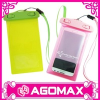 Factory direct sell corporate gift decoration cell phone waterproof pouch