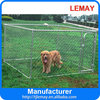 2014 wholesale chain link box metal outdoor dog puppy cage