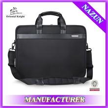 deft design black brand blank laotop bag,Laptop compartment carrying bag