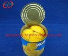 850ml canned yellow peach halves in light syrup