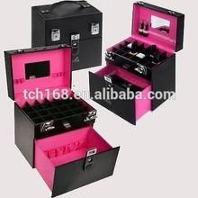 Acrylic cosmetic organizer perspex jewelery storage case