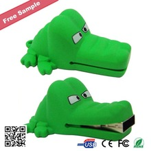 promotion Crocodile shape cartoon usb flash drive as gift