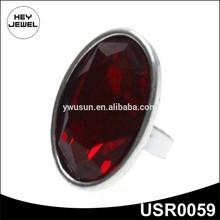 2014 fashion zinc alloy ruby ring USR0059