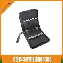 Electronic Cigarette Case E-cigarette Carry Pouch Zip Kit Bag for eGo Kit E-cig