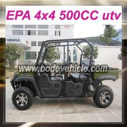EPA/EEC cheap 500cc 4x4 utv for sale