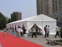 PVC tent for merchandise display