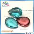 Pierres précieuses facettes personnalisée. gros pierres décoratives en verre pour le vase