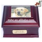 Unique Design Wooden Box Dog Urn HCGB-9707