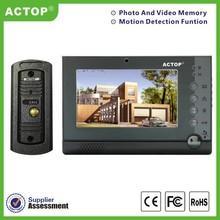 Top fashion CCTV 7 inch best quality video intercom door phone